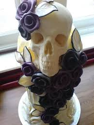 skull wedding cakes miss manners on creepy cake toppers thank you