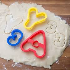 2304 1054 50 plastic abc 123 cookie cutter set