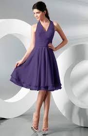 royal purple bridesmaid dresses halter top bridesmaid dresses royal purple color uwdress