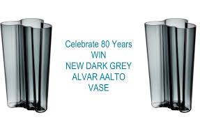 Iittala Aalto Vase Win The Iconic New Grey Alvar Aalto Vase Celebrating 80 Years