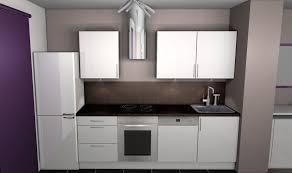 meuble blanc de cuisine cuisine beige et blanc pas cher sur cuisine lareduc com