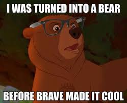 Disney Hipster Meme - kenai disney s brother bear the only acceptable hipster meme picmia