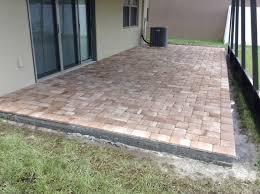 12x12 Patio Pavers Patio Florida Pavers Brick Ta Paving Companies Backyard