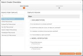 batching a checklist cxalloy support
