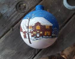 house ornament etsy