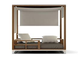 Outdoor Daybed With Canopy Bermudafied Adjustable Daybed Premiere Couture Outdoor