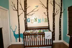 forest owl baby nursery after choosing a color scheme and finding