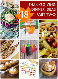great ideas 18 thanksgiving dinner ideas part two