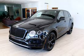 bentley suv inside 2018 bentley bentayga w12 black edition stock 8n018676 for sale