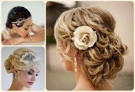 bridal hairstyle for curly hair women medium haircut