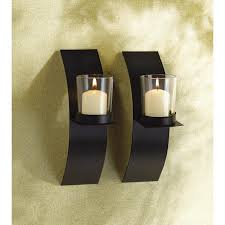Wall Candle Sconce Wholesale Sleek Modern Style Wall Candle Sconces Pair Zen Wall