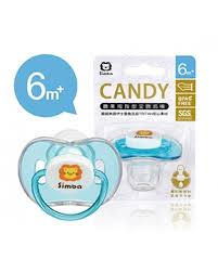 pacifier shaped candy candy thumb shaped pacifier blue 6 m