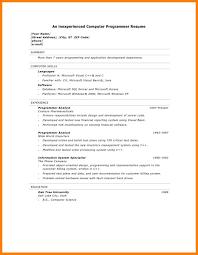 Computer Programmer Resume Objective Insurance Broker Resume Sample Resume Peppapp