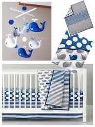 Whale Crib Bedding Baby Bedding Grey Blue Whale Crib Bedding In Crib Bedding
