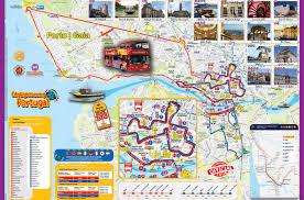 Nova Map Hop On Hop Off Bus Tour Porto City Sightseeing