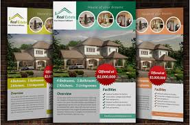 free real estate flyer templates 10 professional real estate brochure templates free