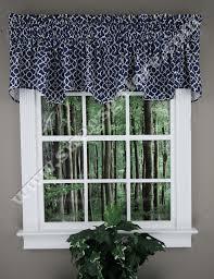 Lattice Design Curtains Lovely Lattice Wave Valance Indigo Waverly Waverly Curtains