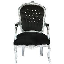 Antike Esszimmerst Le Extravagante Barock Stühle Stuhl Sessel Schwarz Silber Antik