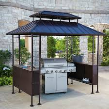 Canopies For Patios Outdoor Extraordinary Grill Canopy For Your Backyard Decor