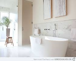 Exceptional And Stylish White Bathroom Designs Home Design Lover - White bathroom designs