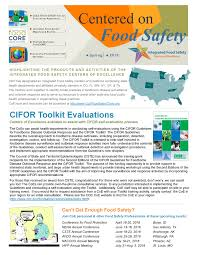 integrated food safety centers of excellence
