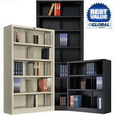 steel u0026 wood bookcases at global industrial