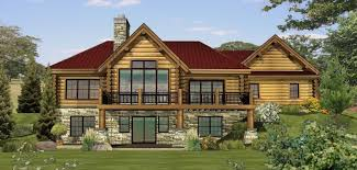 twin lakes log homes cabins and log home floor plans