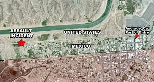 border patrol assaulted with rocks