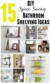 Diy Ideas For Bathroom Best 25 Space Saving Bathroom Ideas On Pinterest Ideas For