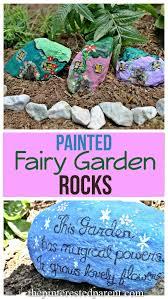 painted fairy garden rocks u2013 the pinterested parent
