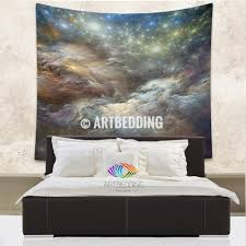 home decor tapestry galaxy tapestry 3d cosmos nebula with stars wall tapestry galaxy