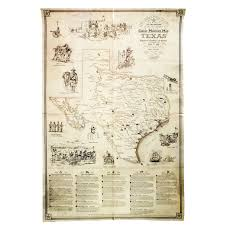 Texas Capitol Map Great Military Map Of Texas Texas Capitol Gift Shop