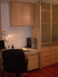 Two Desks In One Office We Wanted A Built In Home Office But Were On A Budget So Ikea Was