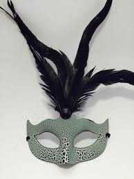 masquerade party masks pack of mardi gras masquerade party feather masks fancy eye
