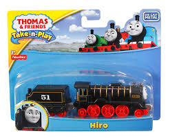 amazon com fisher price thomas the train take n play hiro toys