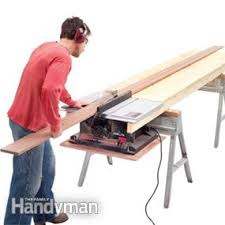 wood table saw stand table saw tips and techniques family handyman