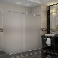 frosted corner shower doors shower doors the home depot