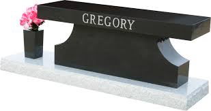cremation benches distinction memorial benches and cremation benches gravestones