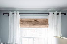 Curtains Without Rods Curtain Different Ways To Hang Curtains Without A Rod Curtain