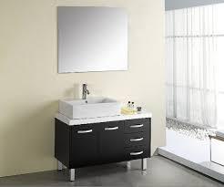 Double Sink Vanity Ikea Lovable Double Sink Vanity Top Using High Gloss Black Laminate