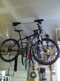 Bicycle Ceiling Hoist by Save 76 U0026 Lots Of Space On Ceiling Mount Bike Hoist