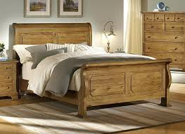Bed Frames For Less Unfinished Bed Frames Unfinished Wood Sleigh Bed Frame With Less