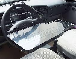 mobile laptop desk for car portable foldable car laptop stand foldable car seat steering wheel