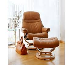 Comfortable Recliners Reviews Stressless Sunrise Classic Recliner U0026 Ottoman From 2 195 00 By