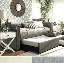 Living Room Daybed Daybed With Pop Up Trundle Living Room Daybeds With Pop Up Trundle