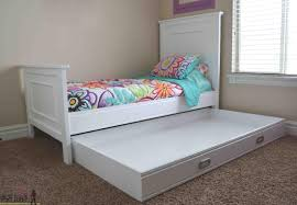 Kids Twin Bed With Storage Twin Bed With Storage For Kids White Wall Paint White Teak Wood