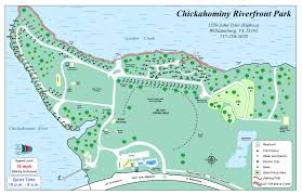 Virginia Capital Trail Map by Chickahominy Riverfront Park Find Your Chesapeake National