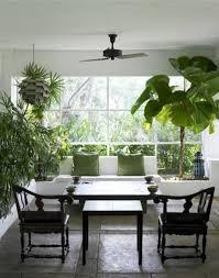 beautiful indoor garden design with green plants indoor garden
