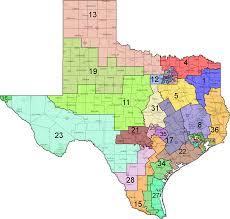 Tx State Map by Nearly Every Southern State Could Have Drawn Another Congressional