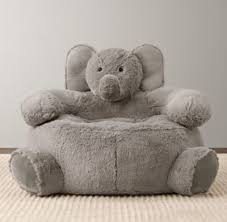 cuddle plush elephant chair nursery accessories restoration